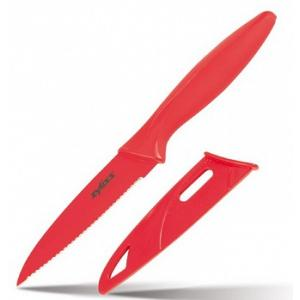 "Zyliss Red 3.75"" Serrated Paring Knife"